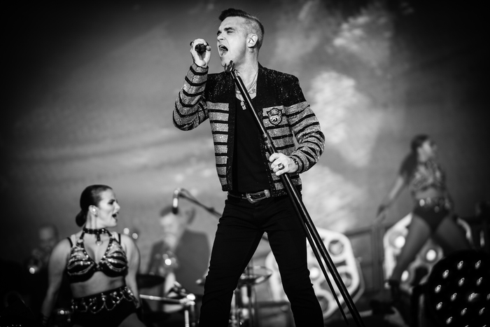 Robbie Williams at BST Hyde Park